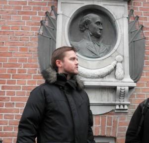Jens og Shønning - begge i profil